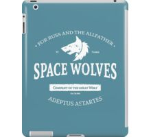 Space Wolves iPad Case/Skin