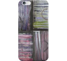 Abstract Console Buttons iPhone Case/Skin