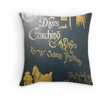 London 1888 Throw Pillow