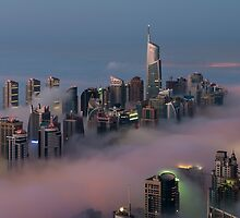 City in the Sky I by Sebastian Opitz