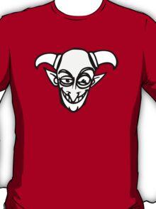 devil cartoon evil diable head T-Shirt