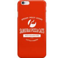 Samurai Pizza Cats iPhone Case/Skin