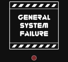 General System Failure Kids Clothes