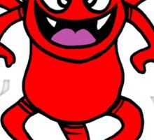 devil cartoon evil diable Sticker