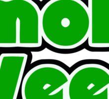 Smoke Weed - Sleep Logo Sticker