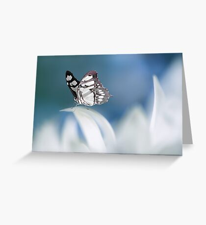 Soft blue Greeting Card