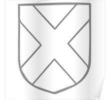 A Complete Guide to Heraldry - Figure 184 — Saltire Poster