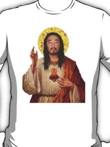 'Stevus Christ' - Steve Aoki/ Dim Mak T-Shirt