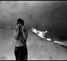 Fire#1 by Vivi Kalomiri