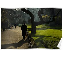 Mystery Man and Tree Poster