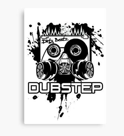 Dubstep - Dirty Beatz Canvas Print