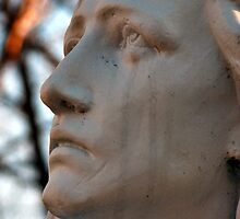Mother Mary Crying by Carole Brunet