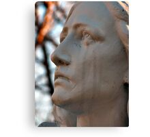 Mother Mary Crying Canvas Print