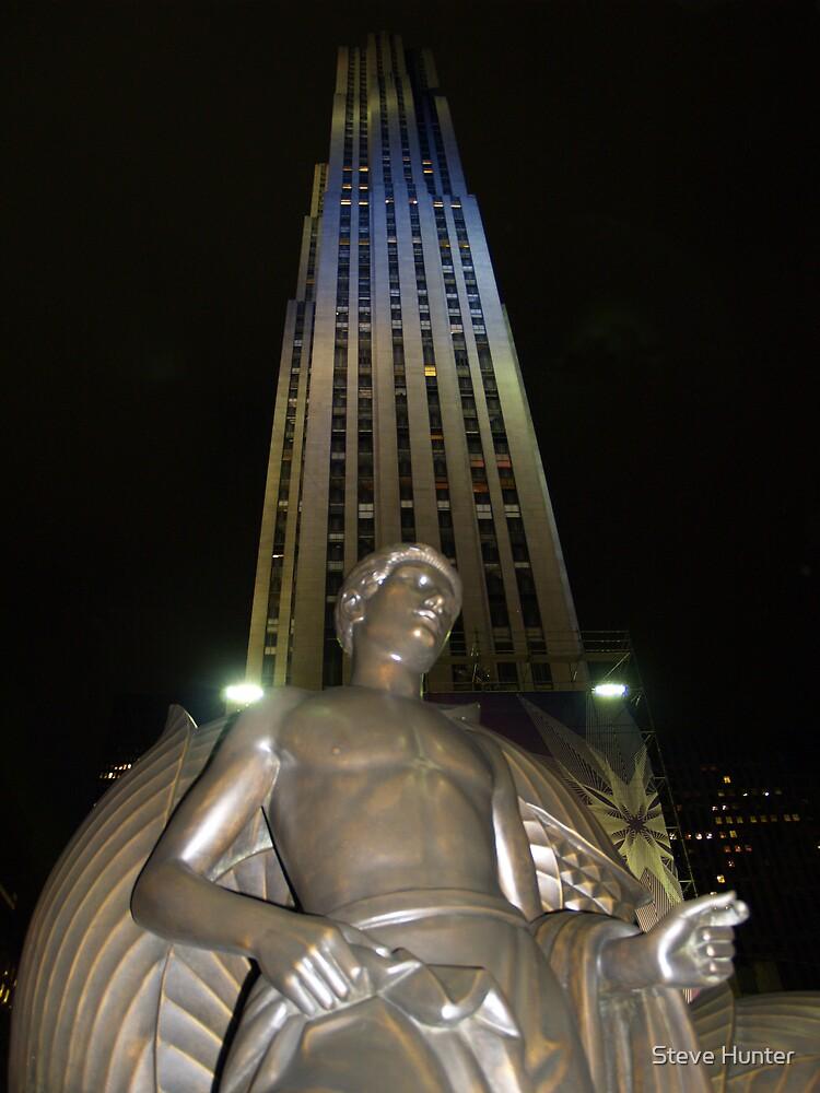 Rockefeller Plaza by Steve Hunter
