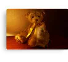 Nostalgic Ted Canvas Print