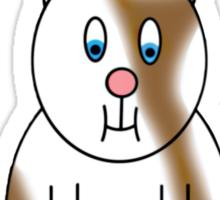 Hamster Scarface Sticker