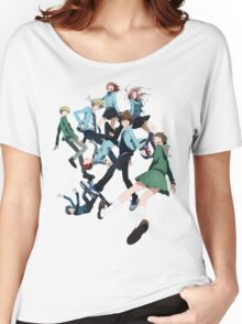 Digimon Adventure 3 Group Women's Relaxed Fit T-Shirt