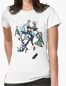 Digimon Adventure 3 Group Womens Fitted T-Shirt