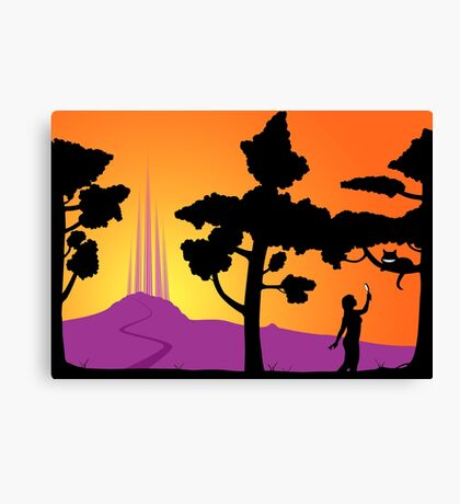 Kiriosity Logo (Alys) Canvas Print