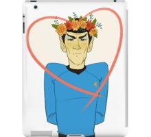 First Officer Spock Valentine iPad Case/Skin
