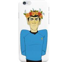 First Officer Spock Valentine iPhone Case/Skin