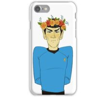 First Officer Spock Valentine iPhone Case/Skin