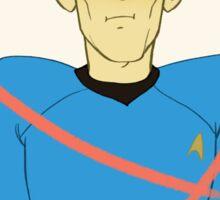 First Officer Spock Valentine Sticker