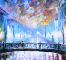 Misty Bridge — Buy Now Link - www.etsy.com/listing/173255472 Sticker