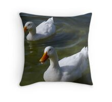 Yeah We Know We're Cute! Throw Pillow