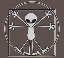 Vitruvian Alien by OriginalApparel