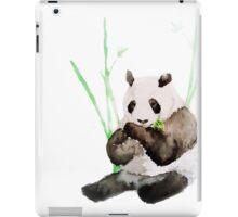 Panda eating Bamboo iPad Case/Skin
