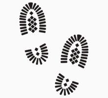Shoe prints Kids Tee