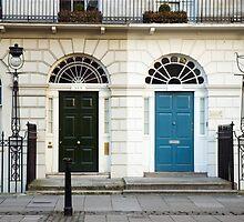 Georgian Houses in Fitzroy Square, London by Roberto Herrett