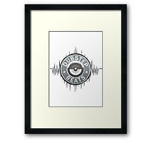 Dubstep - Dirty Beatz Framed Print
