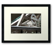 Vauxhall Cross, London Framed Print