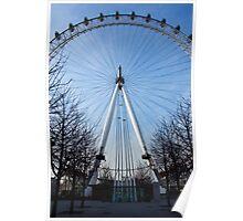London Eye Approach Poster