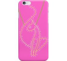 Baby Phat Necklace (Pink) iPhone Case/Skin