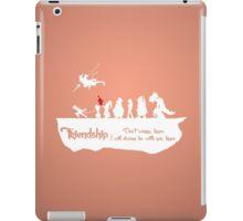 Friendship - Mog iPad Case/Skin