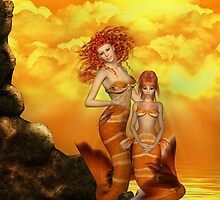 Sun Mermaids by Lisa  Weber