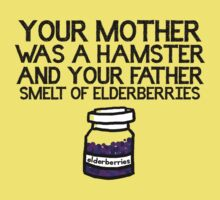 Your Mother Was a Hamster Kids Clothes