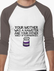 Your Mother Was a Hamster Men's Baseball ¾ T-Shirt