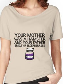 Your Mother Was a Hamster Women's Relaxed Fit T-Shirt