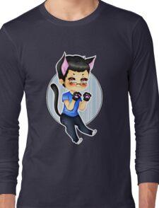 Markiplier - Pretty Little Kitty [T-Shirt, Pillow, etc.] Long Sleeve T-Shirt