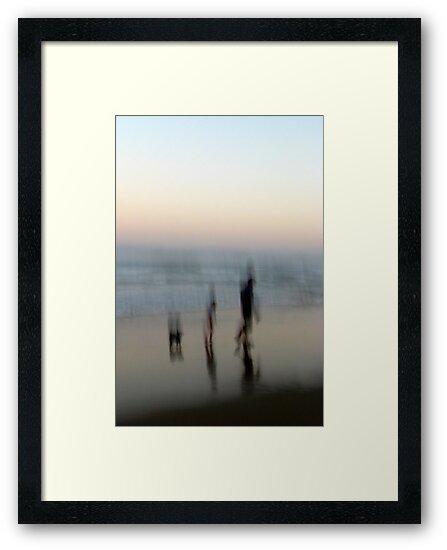 Beach Impressions - Walk This Way by Kitsmumma