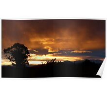 Sunset over High Country Poster