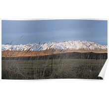 High Country mountains Poster