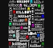 Killtext for dark shirts Womens Fitted T-Shirt