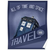 Travel Tardis Poster