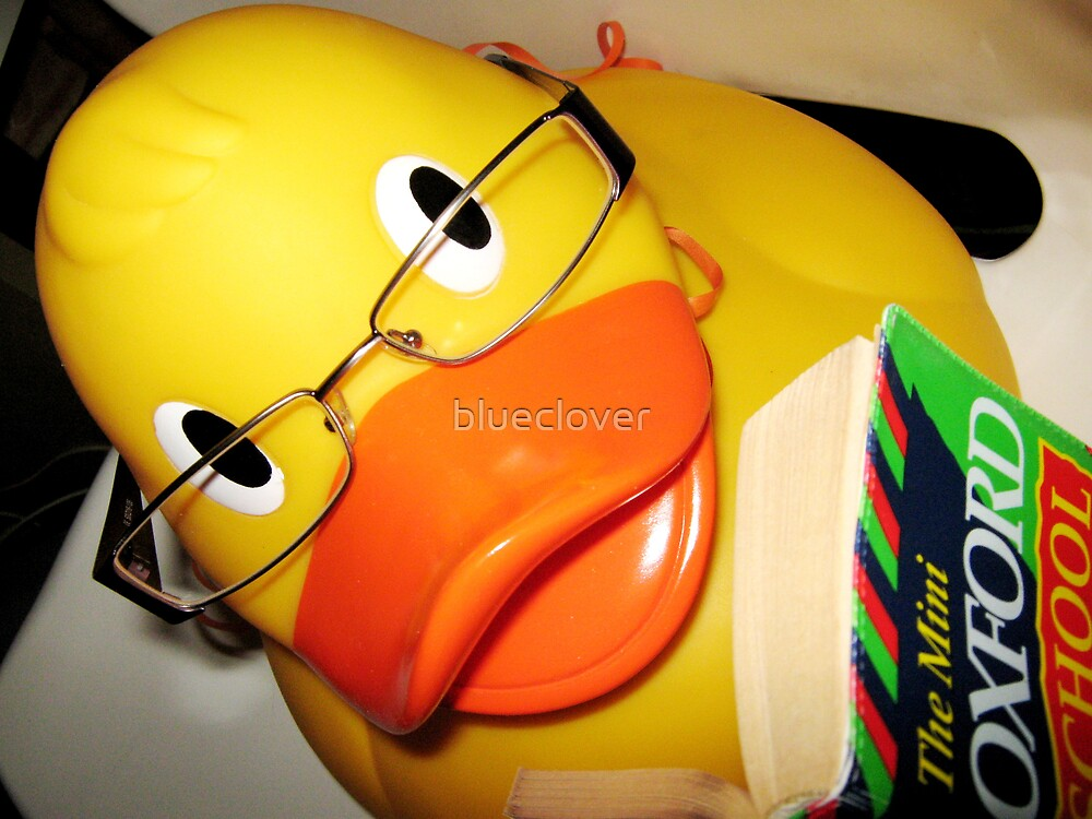 Geeky Ducky by blueclover