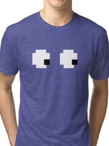 Packman Eyes Tri-blend T-Shirt